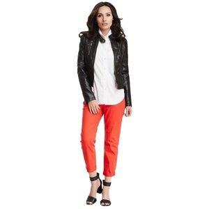 New NYDJ Kendall Mini Roll Cuff Crop Jeans [C9]
